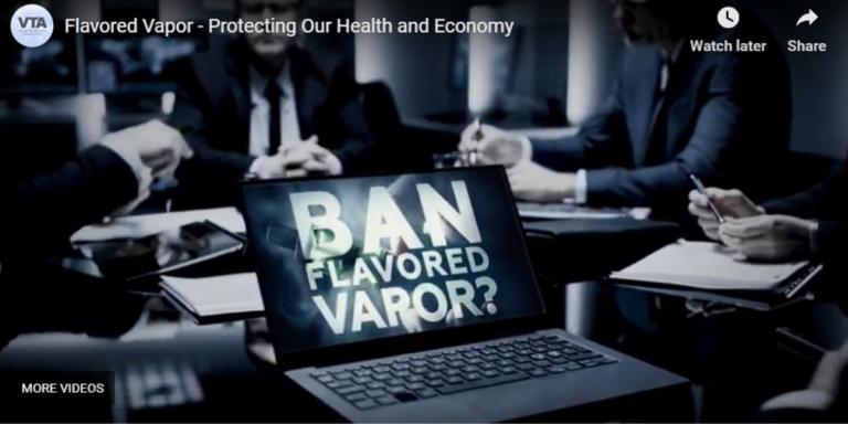 Flavored Vapor TV Ad