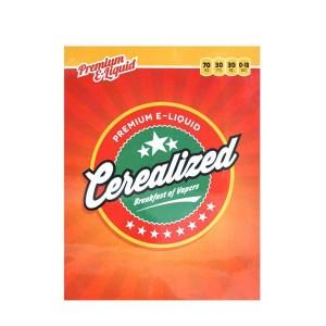 Cerealized Menu