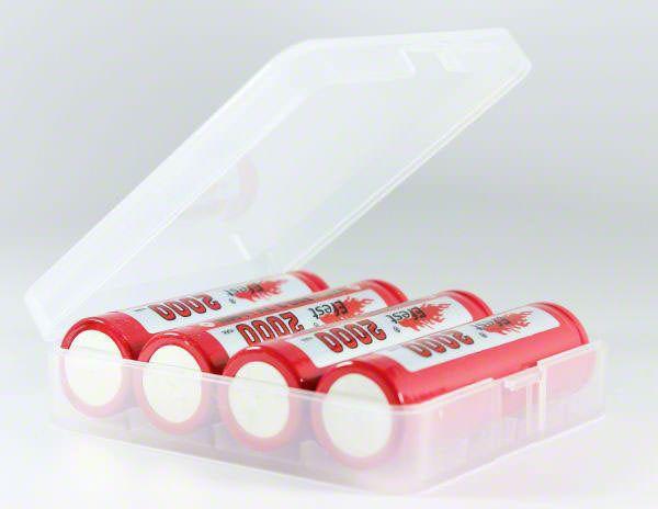 4 x 18650 Battery Case