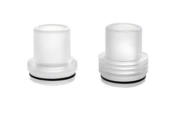 Chuff Enuff Drip Top - Transparent Both