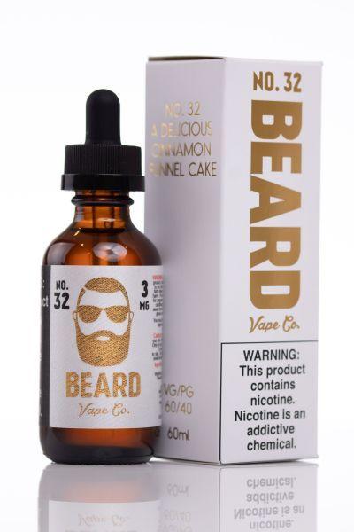 No. 32 E-Juice 60ml by Beard Vape Co