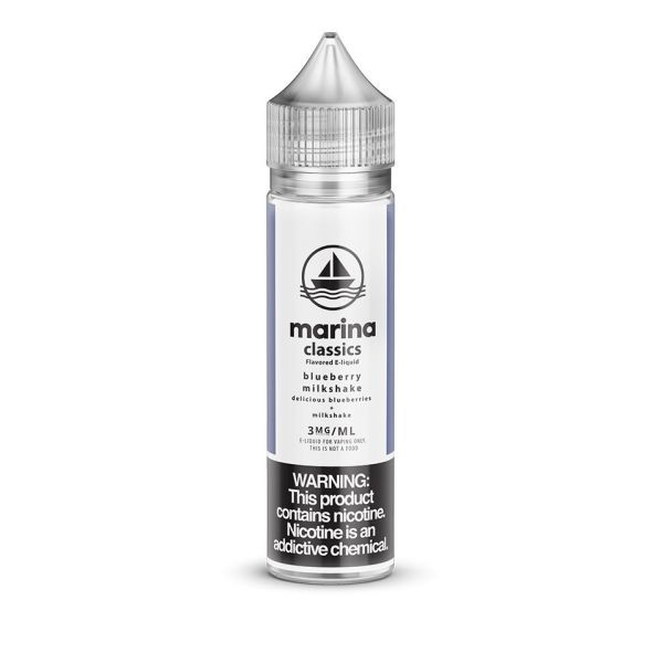 Marina Vape Classics Blueberry Milkshake