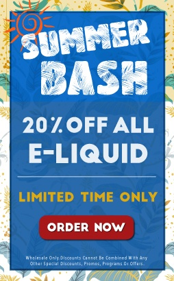 20% Off ALL E-Liquid