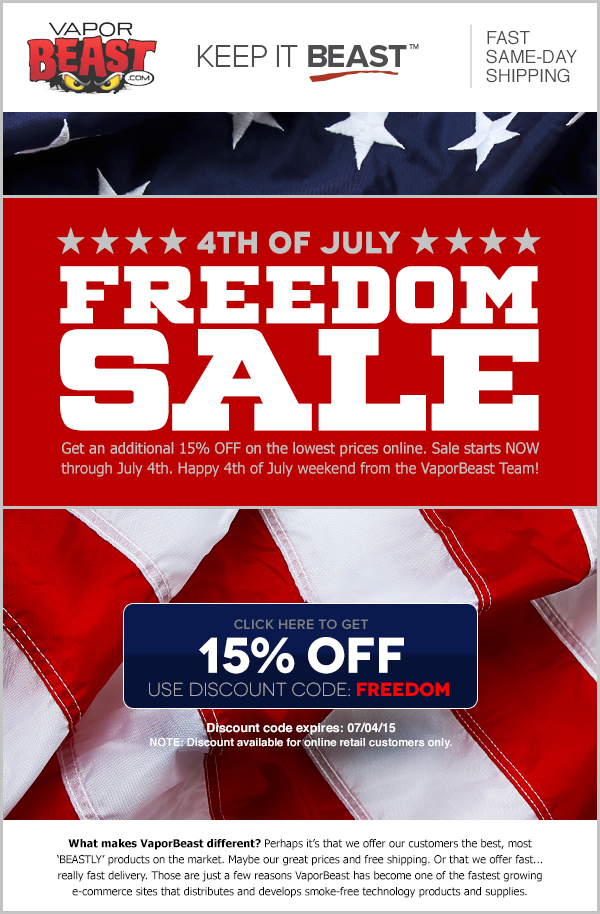 Apple 4th of July sales aren't really a thing, so don't expect deep discounts for Independence Day. However, if you wait till later in July, you might be lucky enough to snag the newest iPad with some notable savings. Amazon's Prime Day is a good time for such deals to pop up; a recent rumor suggests the event could kick off on July 16 this year.