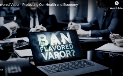 Watch the VTA's TV Ad on Vaping: Flavored Vapor – Protecting Our Health and Economy