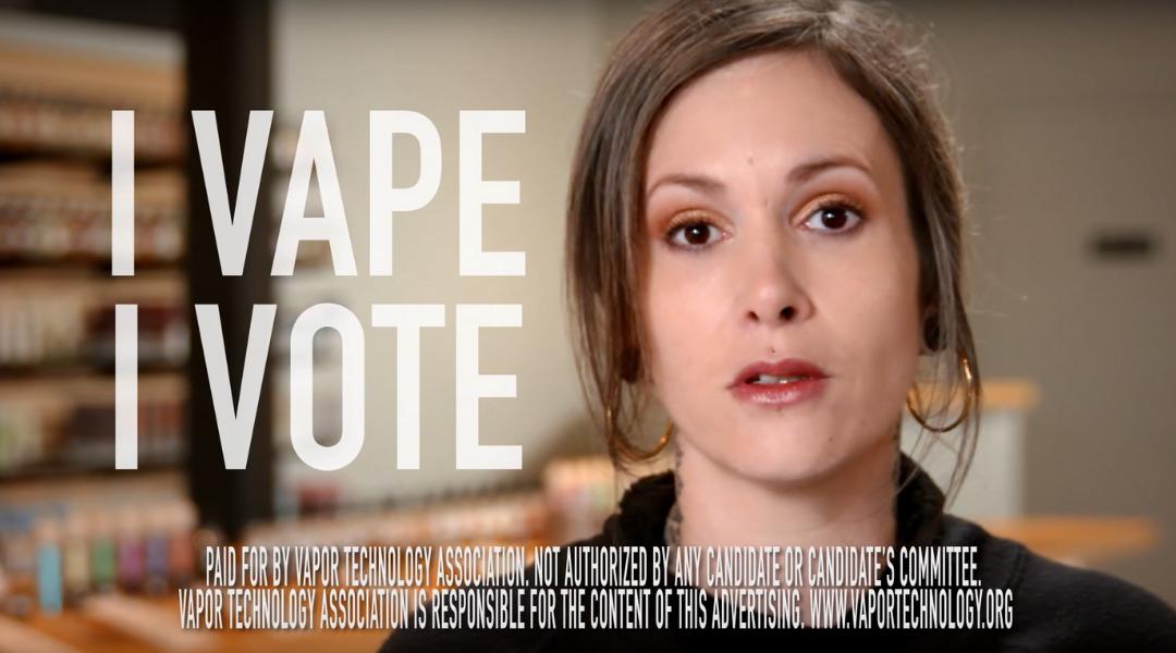 I Vape I Vote TV spot