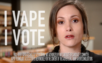 Watch the VTA's New TV Ad on Vaping: I Vape, I Vote
