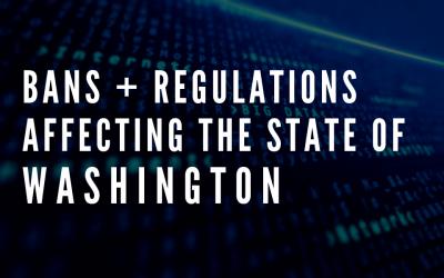 Latest Regulations Affecting the state of Washington