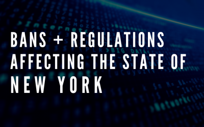 Latest Regulations Affecting the State of New York